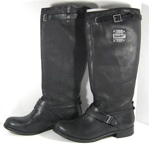 CATERPILLAR Corrine Tall Leather Knee Boots Size 9